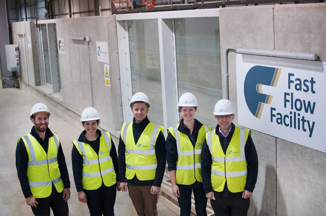 HR Wallingfords Fast Flow Facility project team EDM 0510017