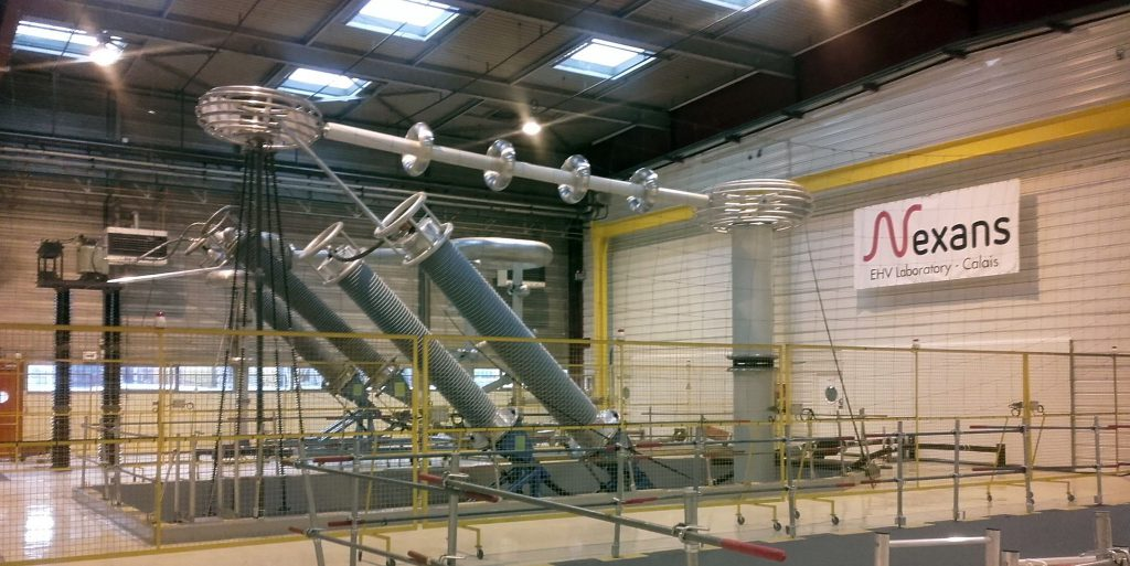 nexans opens high voltage test lab in calais 2