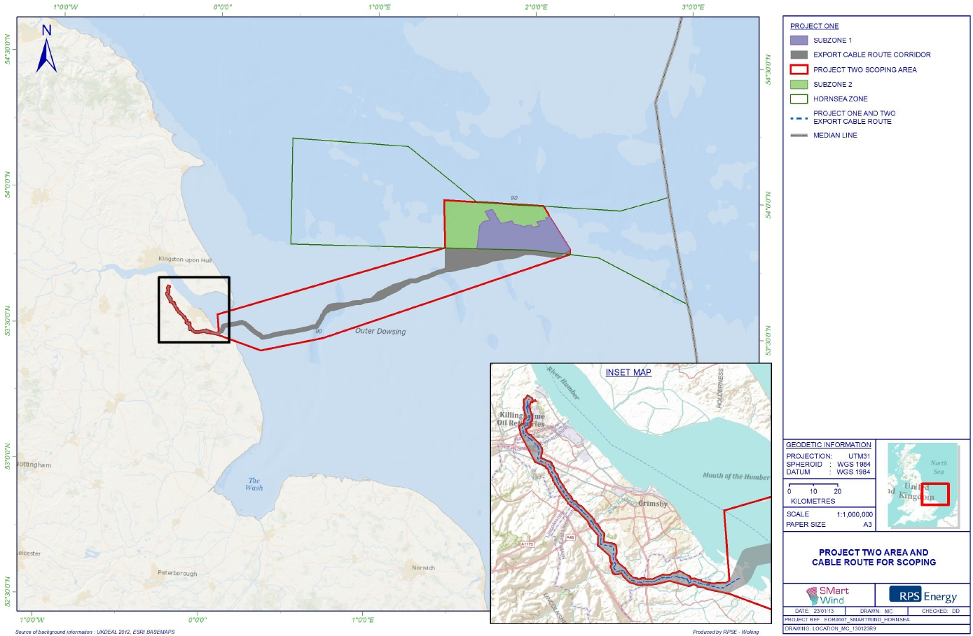 DONG ENERGY remporte Hornsea Project Two en divisant par 2 ... Hornsea Project One