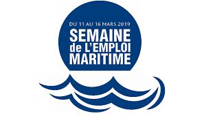 logo semaine pour lemploi maritime EDM